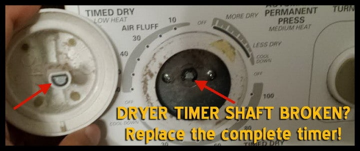 Dryer Knob Broken Here Is The Info You Need For