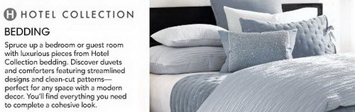 macys hotel bedding collection