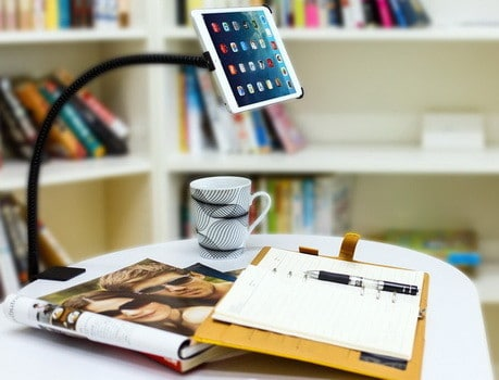 Desk Stand Holder Desktop Bed Clamp Mount for iPad Air