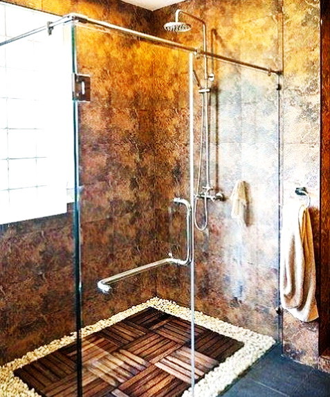 Unique Shower Designs & Ideas_18