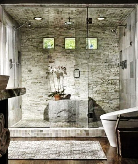 Unique Shower Designs & Ideas_19