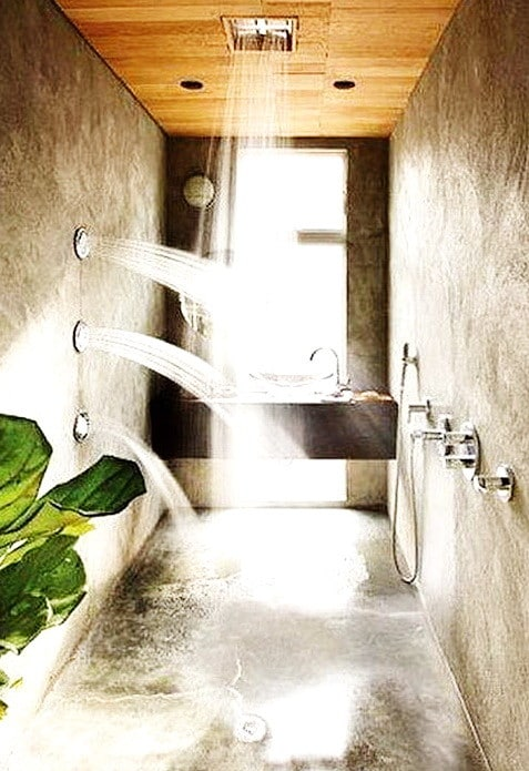 Unique Shower Designs & Ideas_26