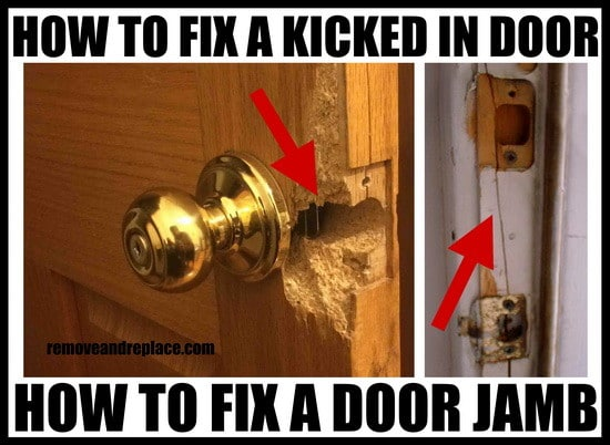 How To Fix A Cracked Door Frame Yourself