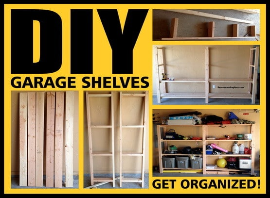 Garage Shelves DIY