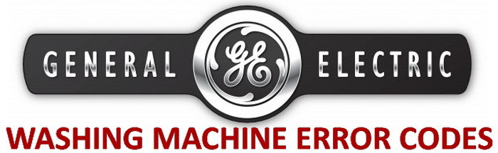 GE Washing Machine Error Codes