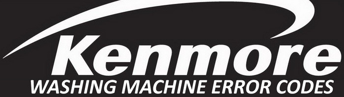 Kenmore Washing Machine Error Codes
