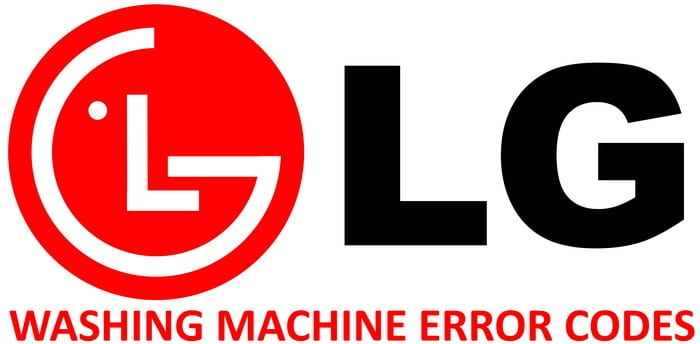 LG Washing Machine Error Codes - Washer Fault Codes
