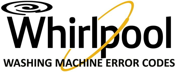 Whirlpool Washing Machine Error Fault Codes