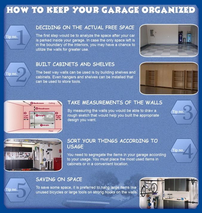 keep your garage organized