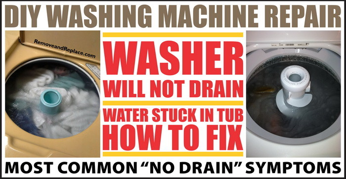 washer will not drain