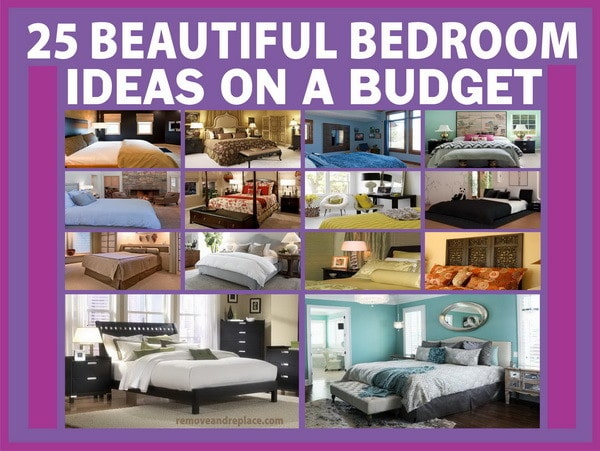 25 beautiful bedroom ideas on a budget for Bedroom ideas on a budget