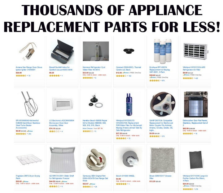 Appliance Replacement Parts