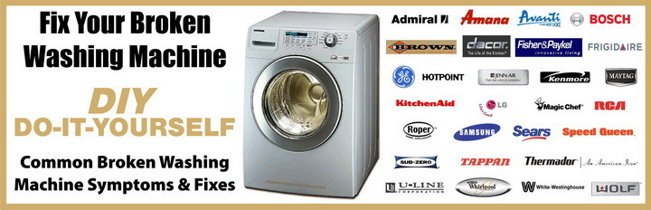 How to repair a broken washing machine common troubleshooting us3 - Common washing machine problems ...