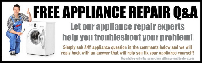 free appliance repair