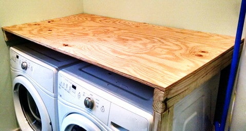 DIY Laundry Room Countertop_3