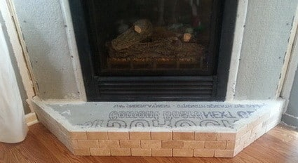 refacing a fireplace with tile. How To Reface A Fireplace 1 Step By  RemoveandReplace Com