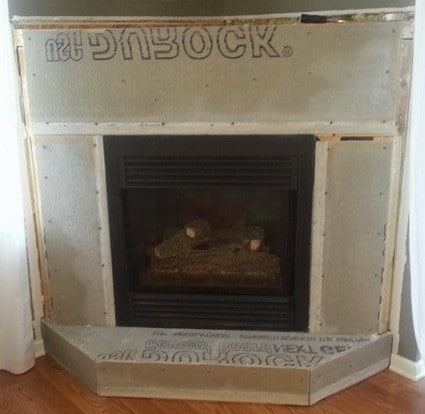 costco paint redo stone fireplaces makeover refacing brick with reface veneer a to fireplace cost