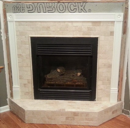 How To Reface A Fireplace 6