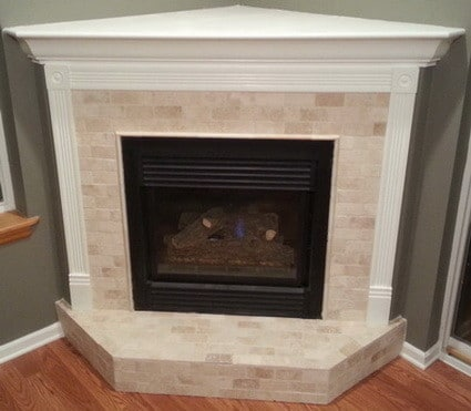 fireplace with paint if needed your fireplace reface in now complete