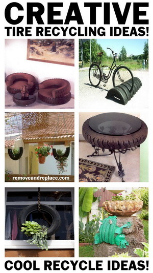 creative tire recycle ideas