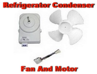Freezer motor making noise for Ge refrigerator condenser fan motor not working
