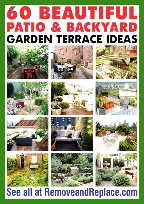 Beautiful Patio Ideas 60 beautiful patio and backyard garden terrace ideas