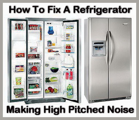 fix fridge high pitch noise