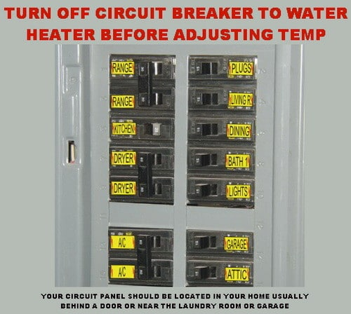 turn off circuit breaker