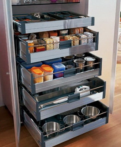 Ideas For Kitchen Efficiency - Compact Kitchens_03