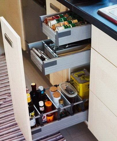 Ideas For Kitchen Efficiency - Compact Kitchens_13