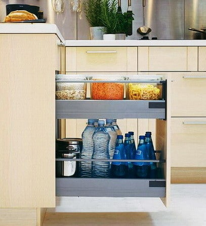 Ideas For Kitchen Efficiency - Compact Kitchens_15