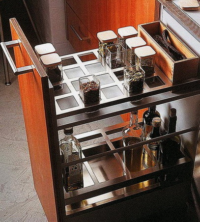 Ideas For Kitchen Efficiency - Compact Kitchens_17