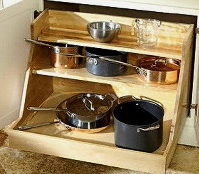 Ideas For Kitchen Efficiency - Compact Kitchens_20