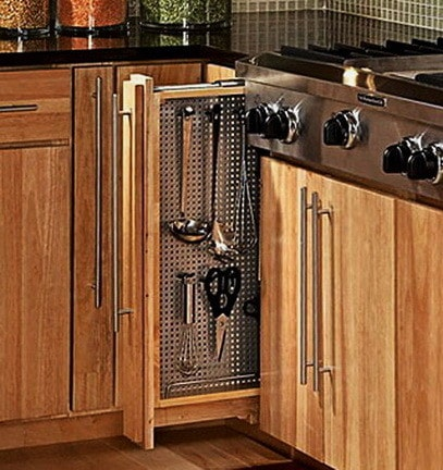 Ideas For Kitchen Efficiency - Compact Kitchens_21