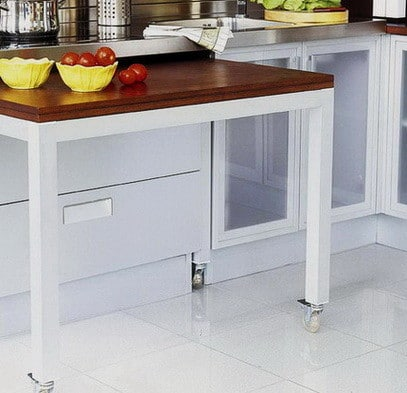 Ideas For Kitchen Efficiency - Compact Kitchens_22