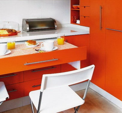 Ideas For Kitchen Efficiency - Compact Kitchens_24