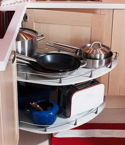 Ideas For Kitchen Efficiency - Compact Kitchens_25