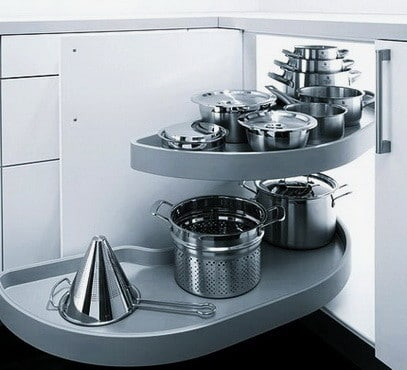 Ideas For Kitchen Efficiency - Compact Kitchens_26