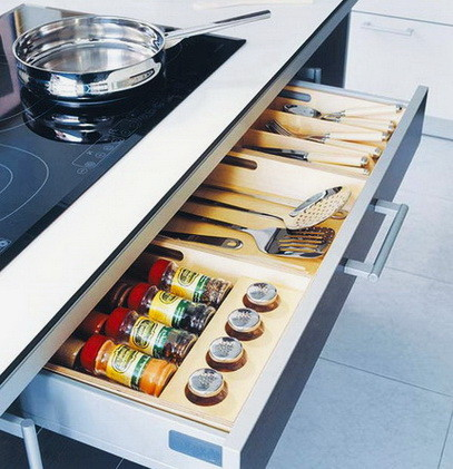 Ideas For Kitchen Efficiency - Compact Kitchens_30