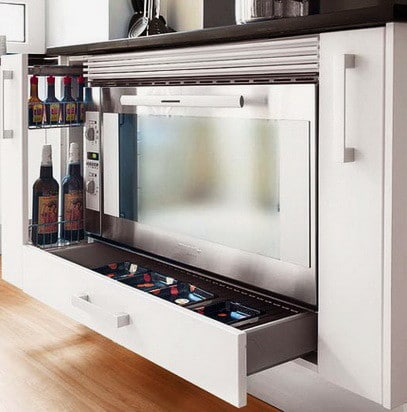 Ideas For Kitchen Efficiency - Compact Kitchens_33