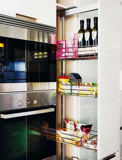 Ideas For Kitchen Efficiency - Compact Kitchens_35