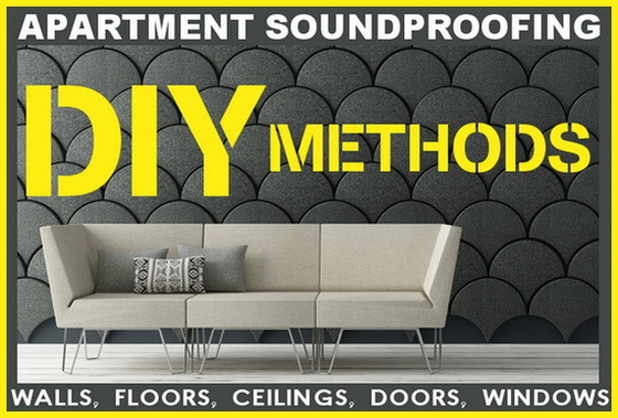 Apartment Soundproofing Methods - Wall, Floor, Ceiling, Window ...