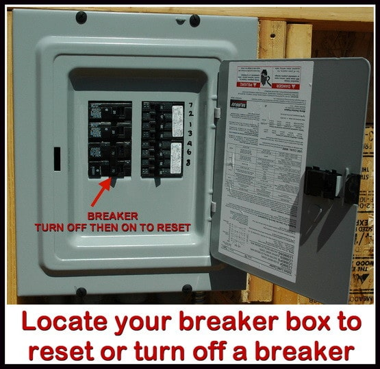 breaker box no power to outlets in one room or wall how to troubleshoot  at bakdesigns.co