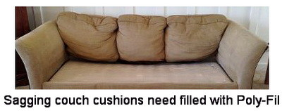 Couch Sagging
