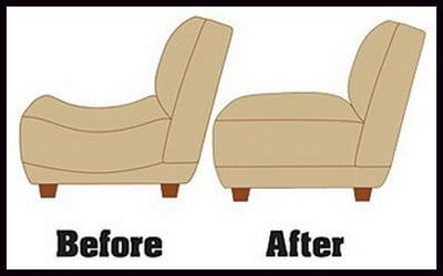 Delightful Fix Sagging Furniture Cushions