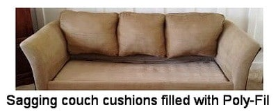 sagging couch fixed