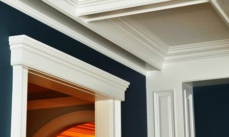 55 Amazing Crown Molding Ideas on easy bedroom decorating ideas