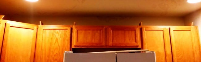 Crown Molding On Kitchen Cabinets Before And After 02