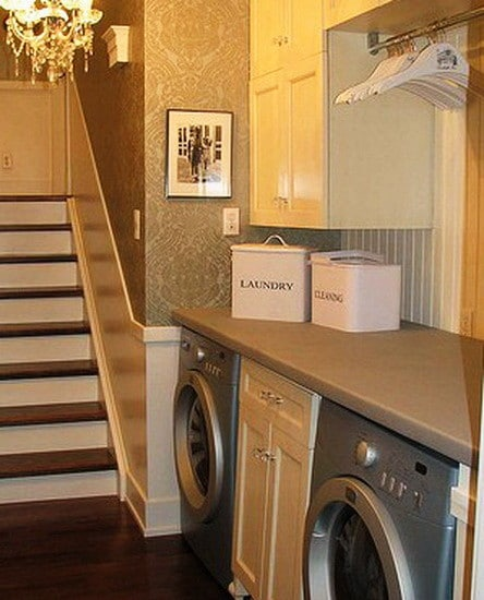 Storage Room Design Ideas: 30 Laundry Room Storage & Decorating Ideas