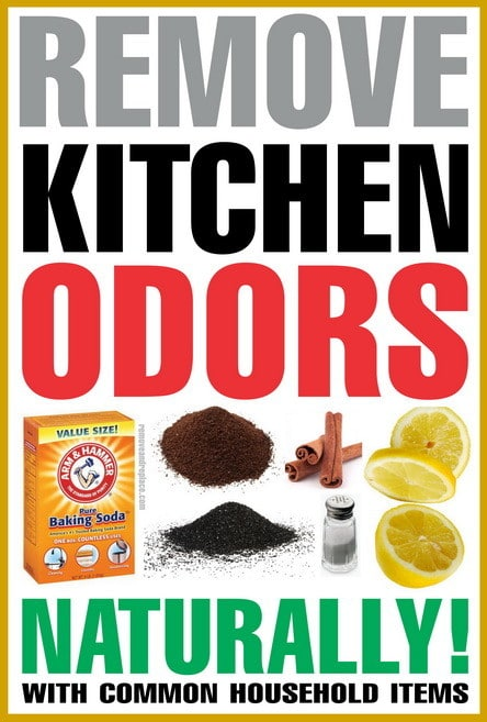 get rid of kitchen odors